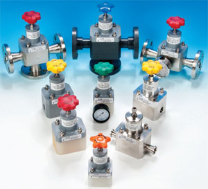 metallic chemical process valves