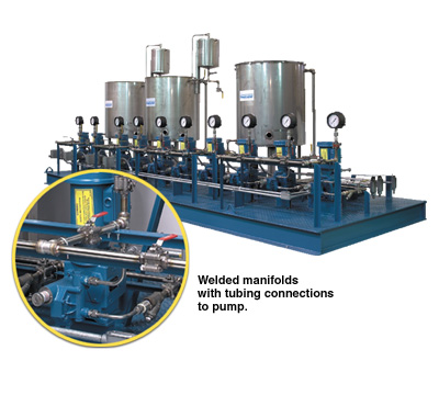 Flow process systems