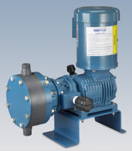 Neptune mechanically actuated metering pump