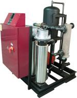 Delta T filtration system