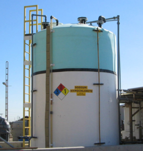 Peabody chemical storage tank